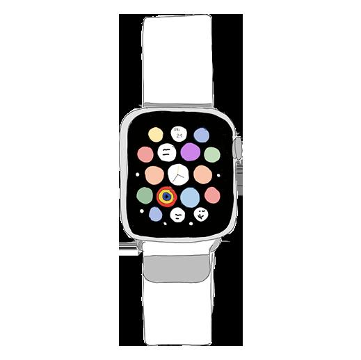 Zeichnung Smartwatch