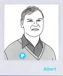 Mitarbeiter Albert Gebel