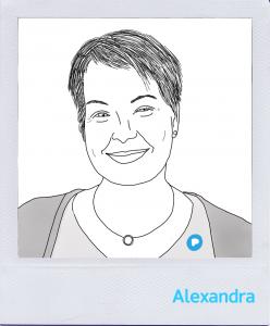 Mitarbeiterin Alexandra Kern